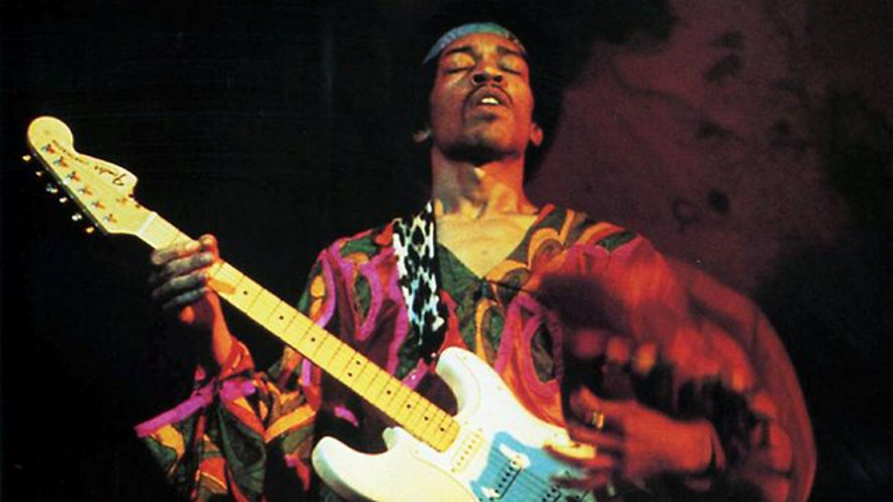 """Jimi Hendrix performing at the Atlanta Pop Festival on July 4th, 1970. """"Freedom,"""" a new two-disc release, documents this historic show."""