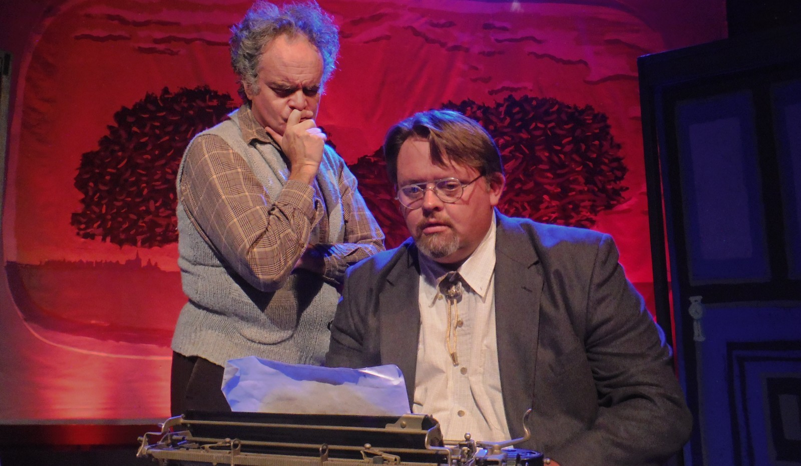 Tim Joyce and John Kennedy star in Subversive Theatre's season-opening production of 'Slaughterhouse Five.'