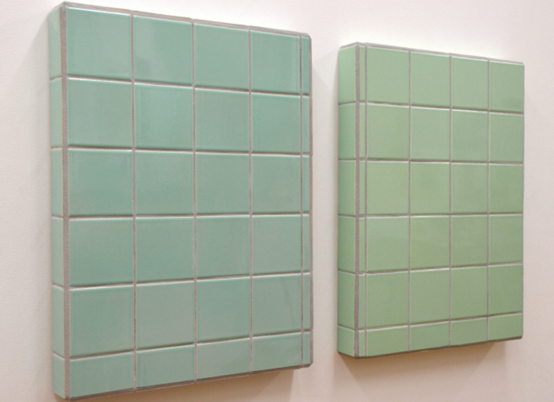 'Mimicry,' a 2014 piece made from ceramic tile by Joseph Bochynski, is on view in Body of Trade and Commerce Gallery from Thursday through Oct. 16.
