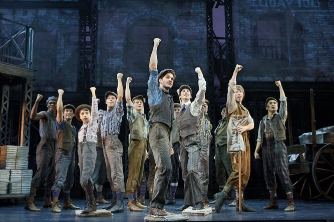 """The national tour of """"Newsies,"""" a musical about turn-of-the-century newspaper boys, comes to Shea's Performing Arts Center on Tuesday."""