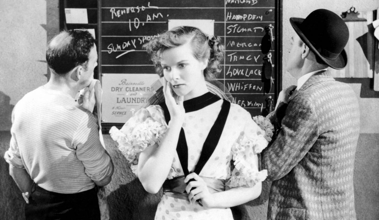 Katherine Hepburn stars in 'Morning Glory.'