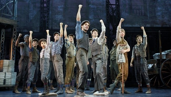 The national tour of 'Newsies,' a musical about turn-of-the-century newspaper boys, is playing at Shea's Performing Arts Center.