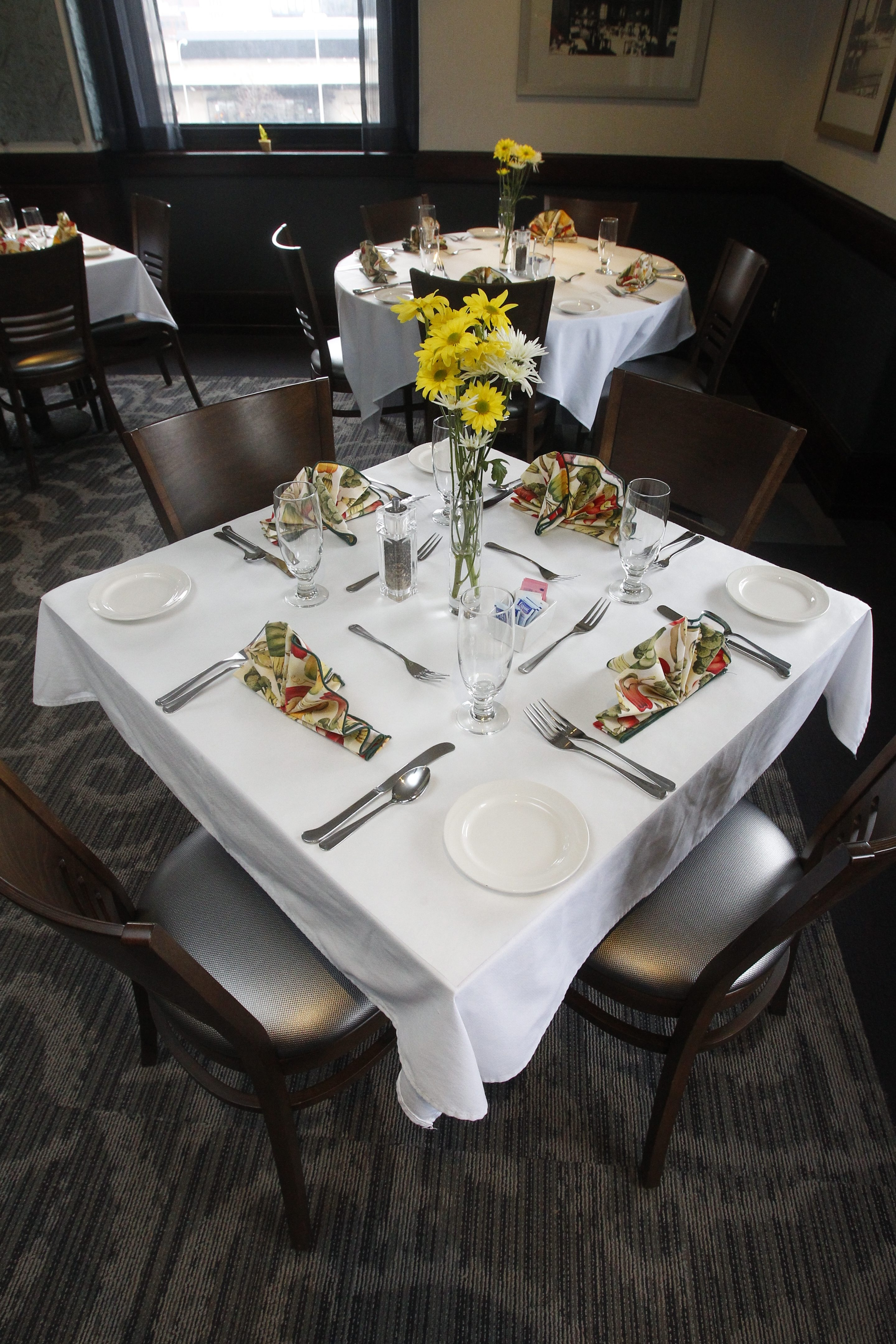Erie Community College's EM Statler Dining Room on its City Campus will participate in Dining Out for Life.