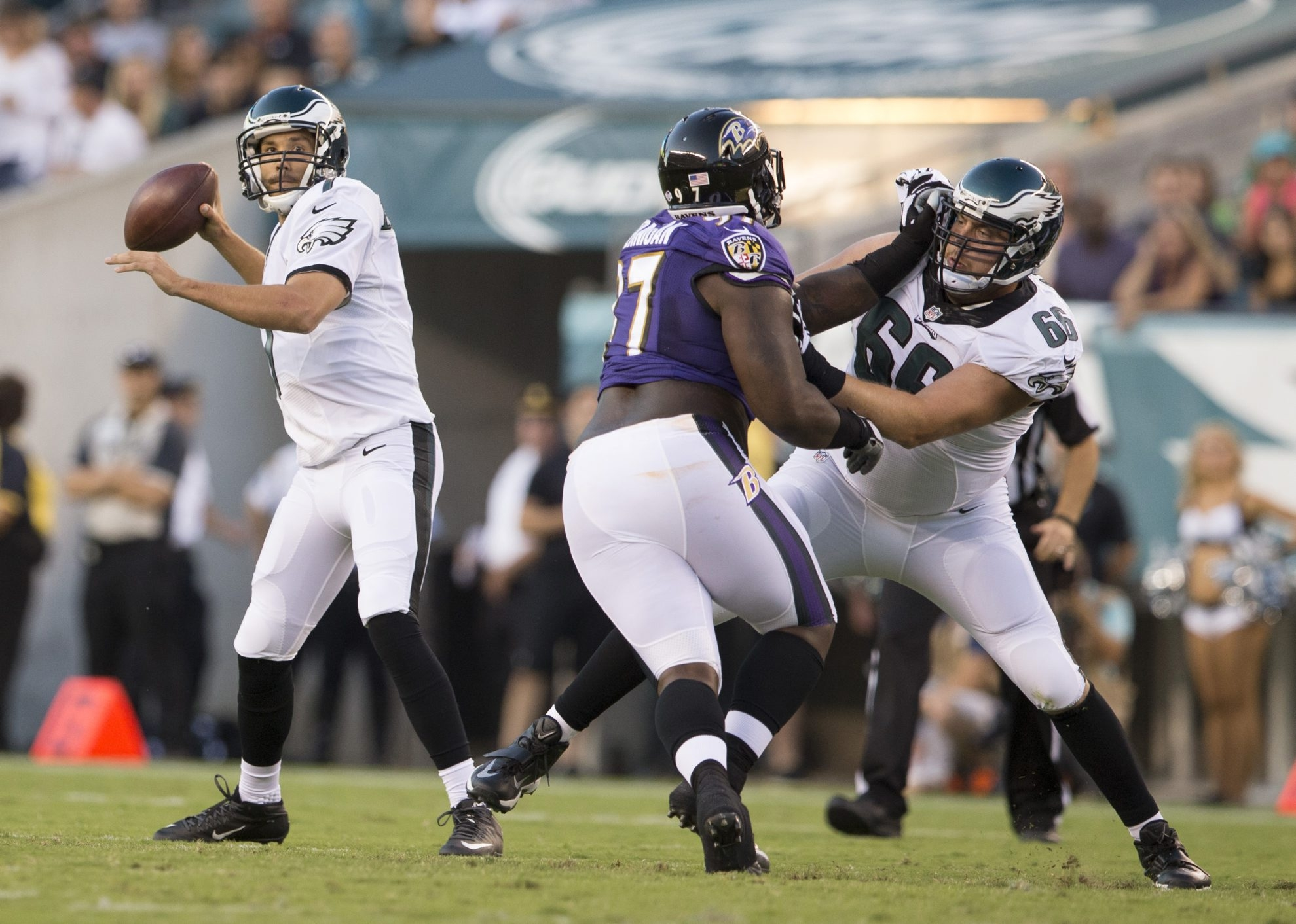 Sam Bradford could find himself in free-agent heaven if he stays health and puts up numbers with the Eagles