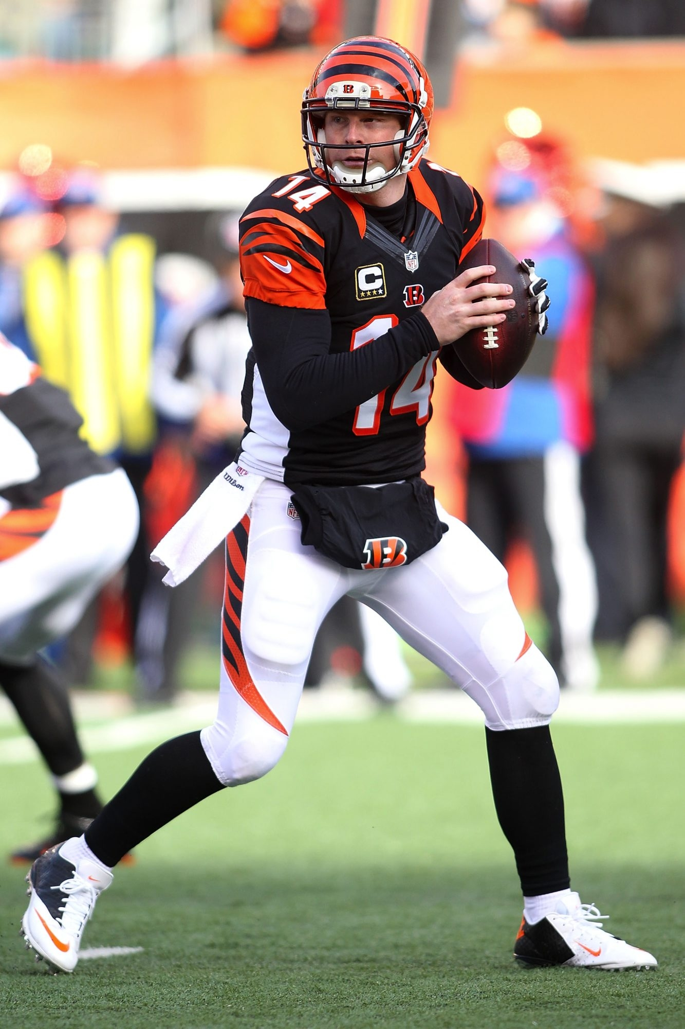 Andy Dalton's been good enough to get Cincinnati to the playoffs but not good enough to win a postseason game.