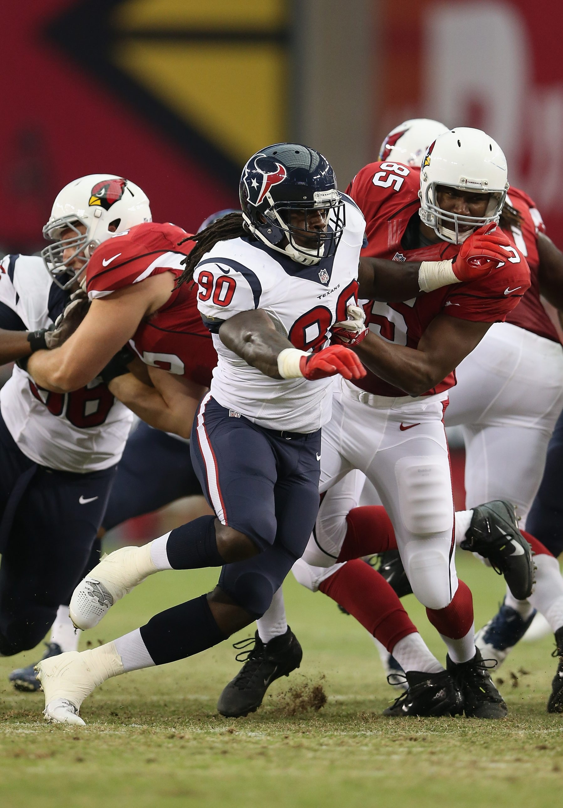 The Houston Texans are banking on Jadeveon Clowney playing in the season opener.