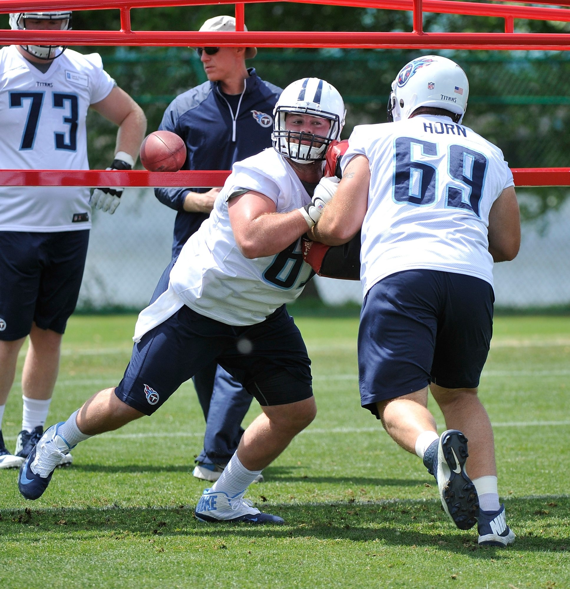 Buffalo signed former Tennessee Titans center Gabe Ikard to the 53-man roster. The Bills still have one more player to sign to fill the roster.