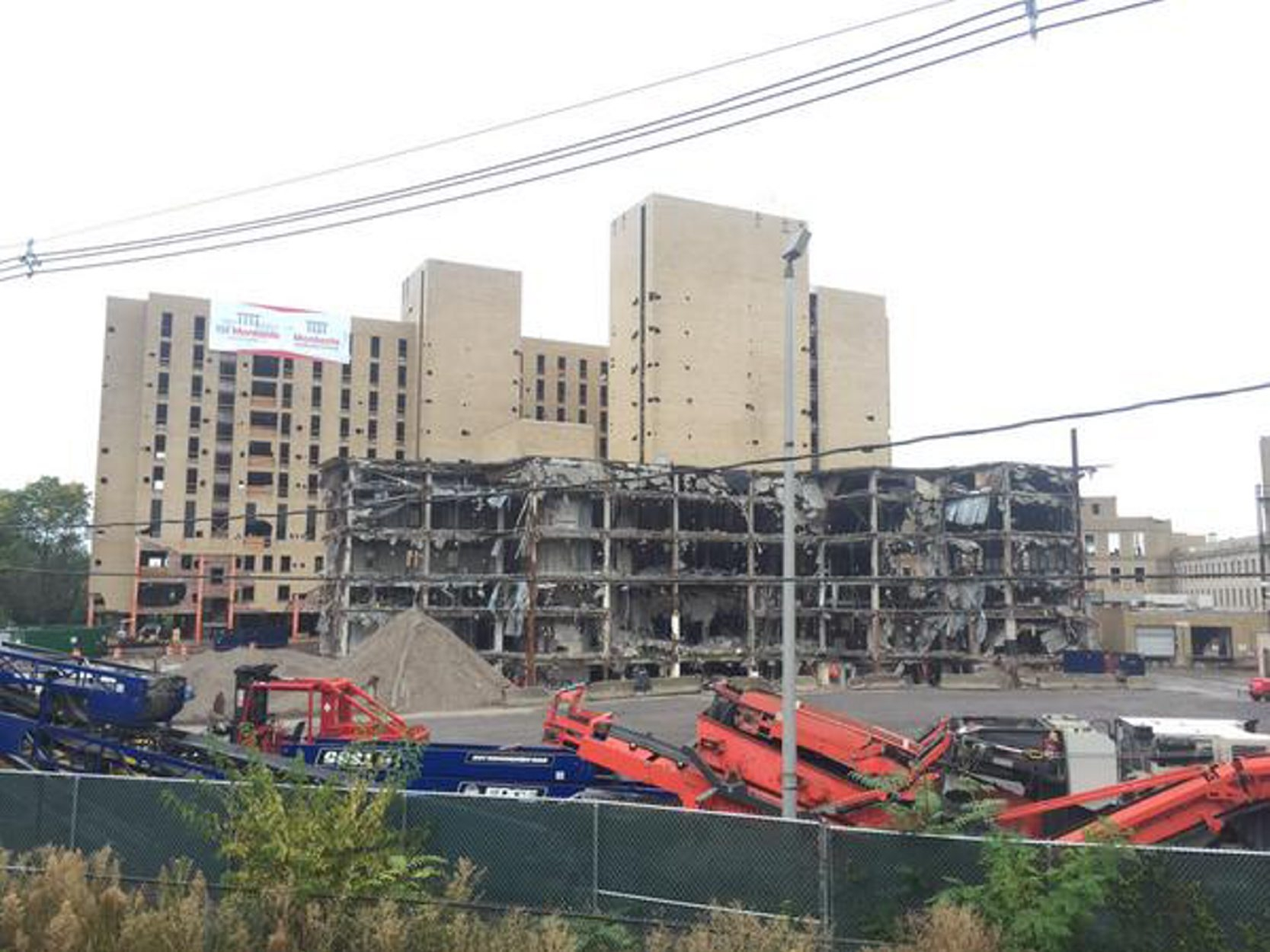 The former Millard Fillmore Hospital as seen Sept. 29, 2015. (Mark Mulville/Buffalo News)