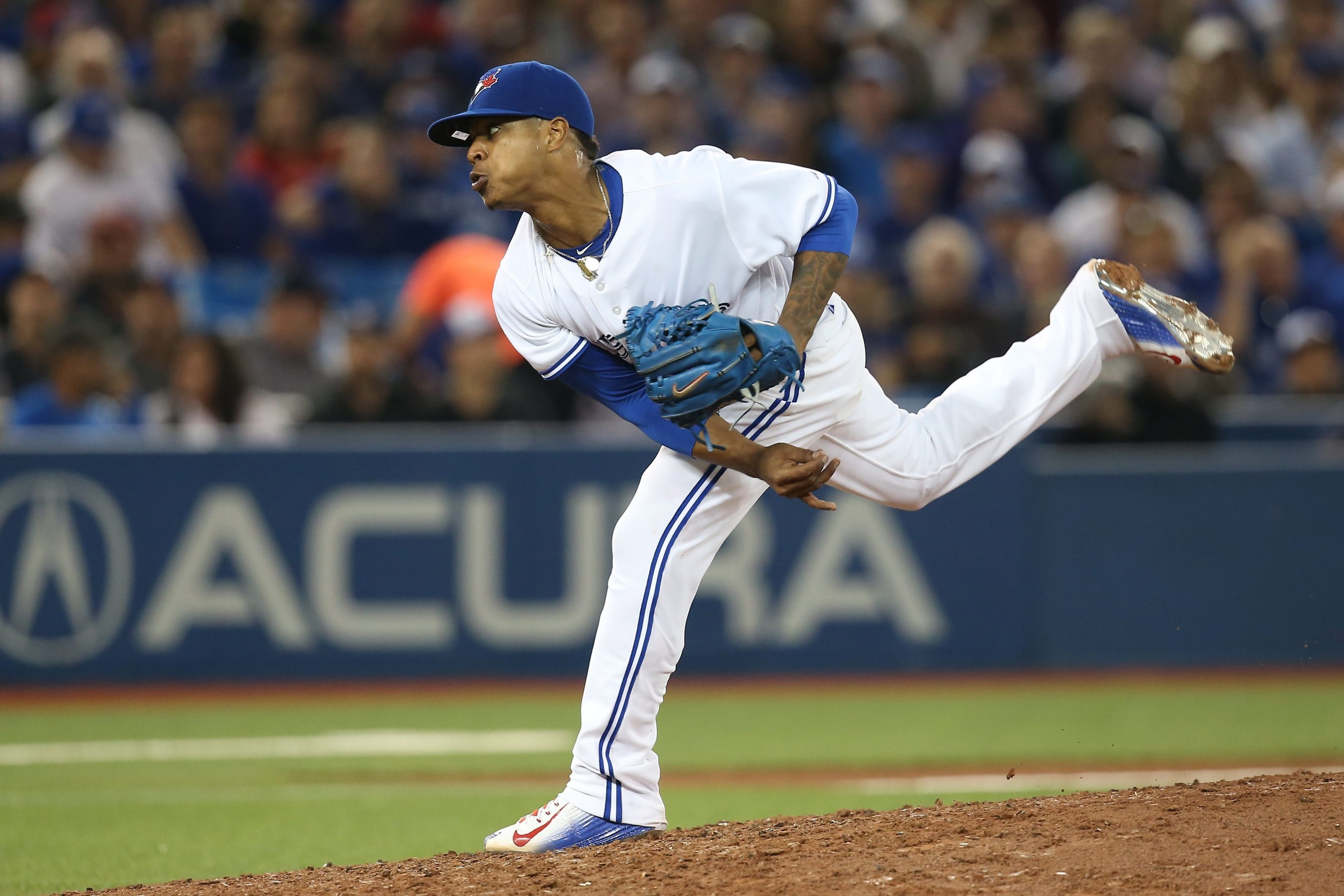 Who knew while he recovered from spring ACL surgery that Marcus Stroman would re-emerge as the Blue Jays' ace in the hole?