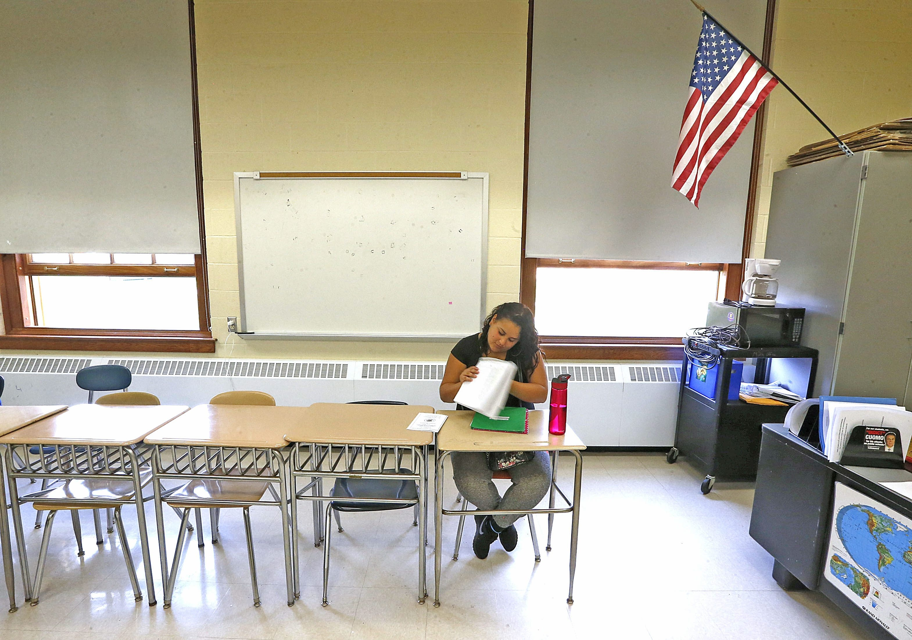 In Buffalo's high schools last year, one-third of students missed at least 20 percent of the school year.
