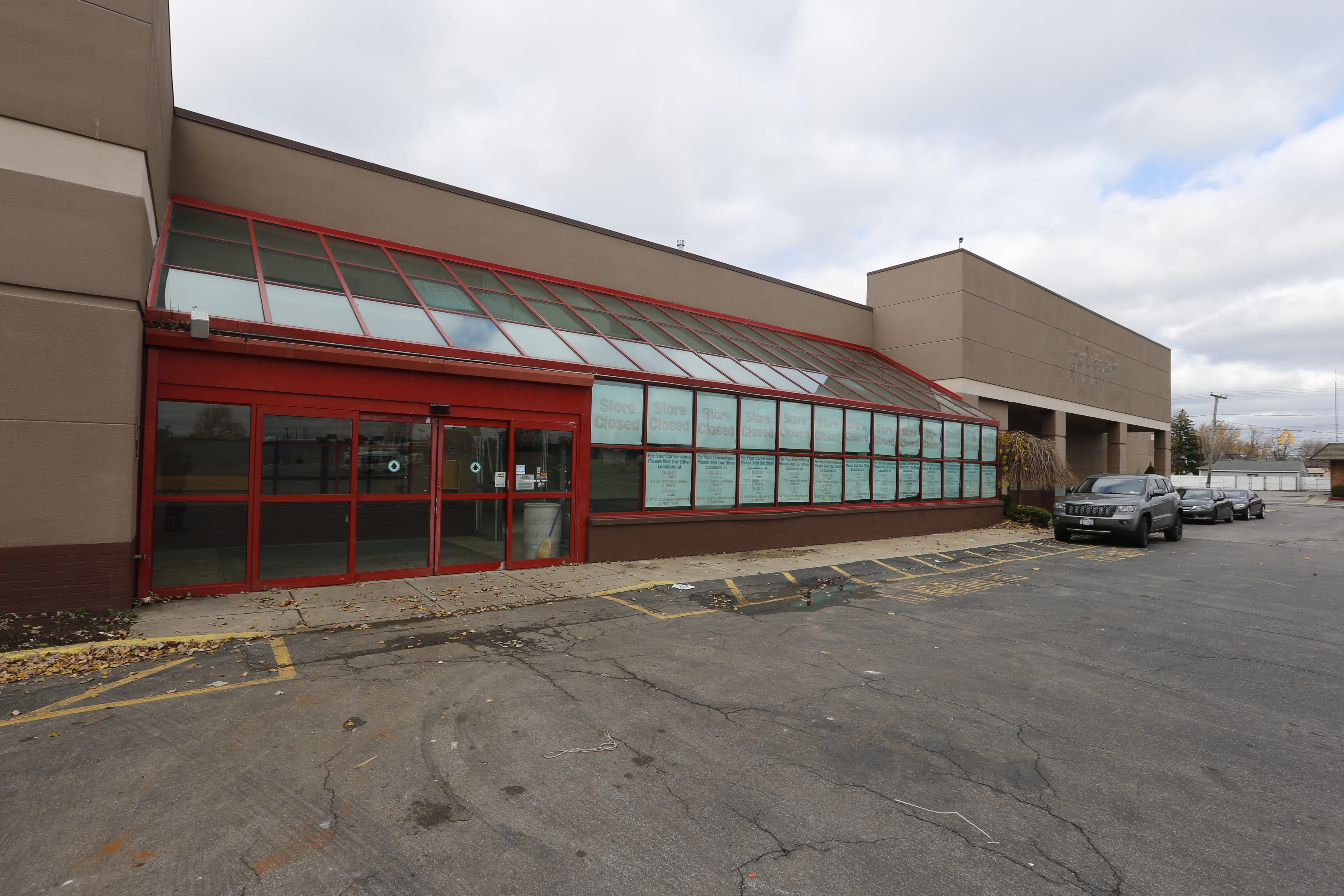 Joe Dash, owner of the now-closed Dash's Store on Kenmore Avenue, wants to build a storage facility on the former Budweys site.