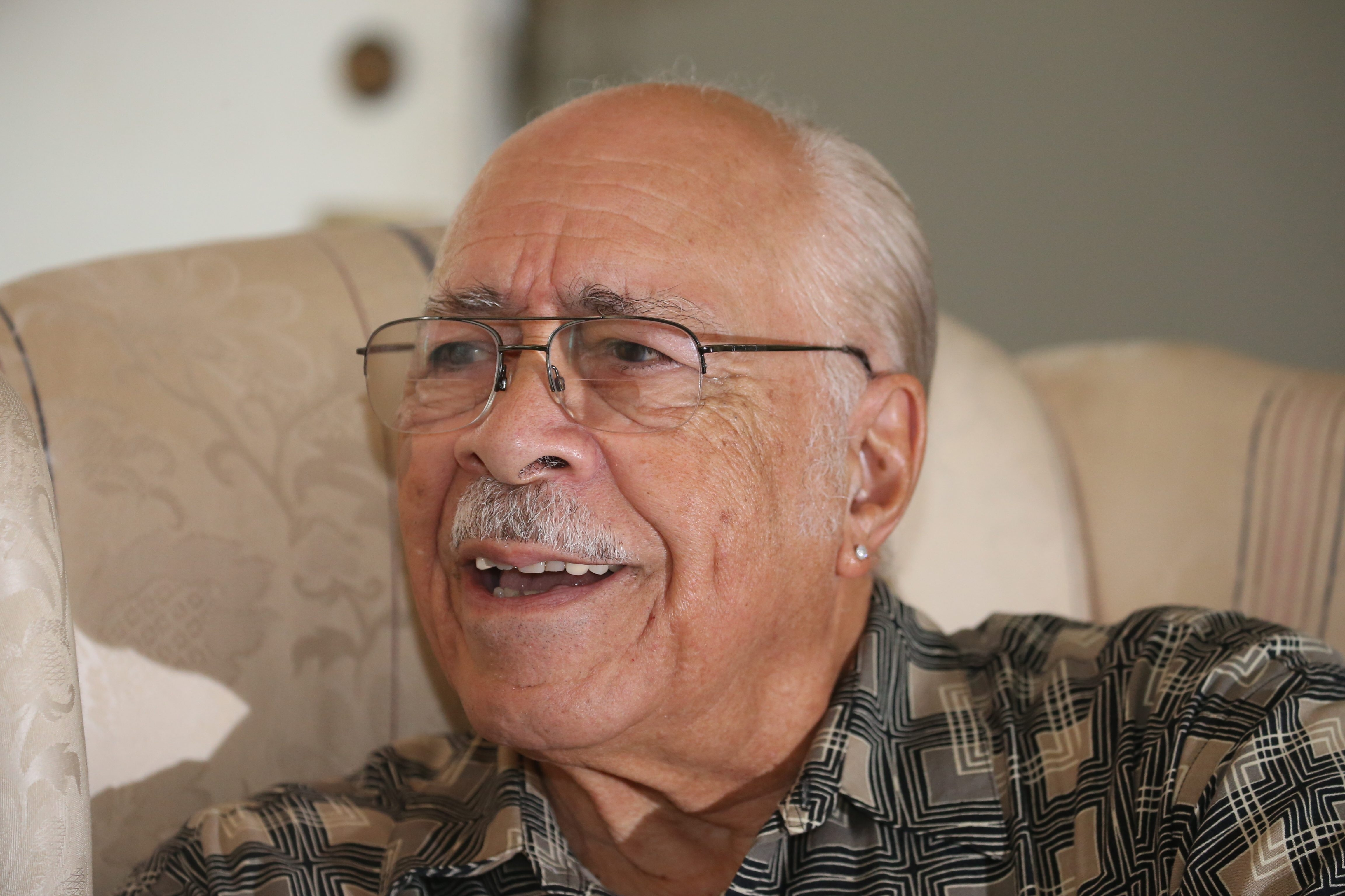 Clifford Bell, 85, a longtime East Side icon, will be honored Saturday for 60 years of service to his church. (John Hickey/Buffalo News)