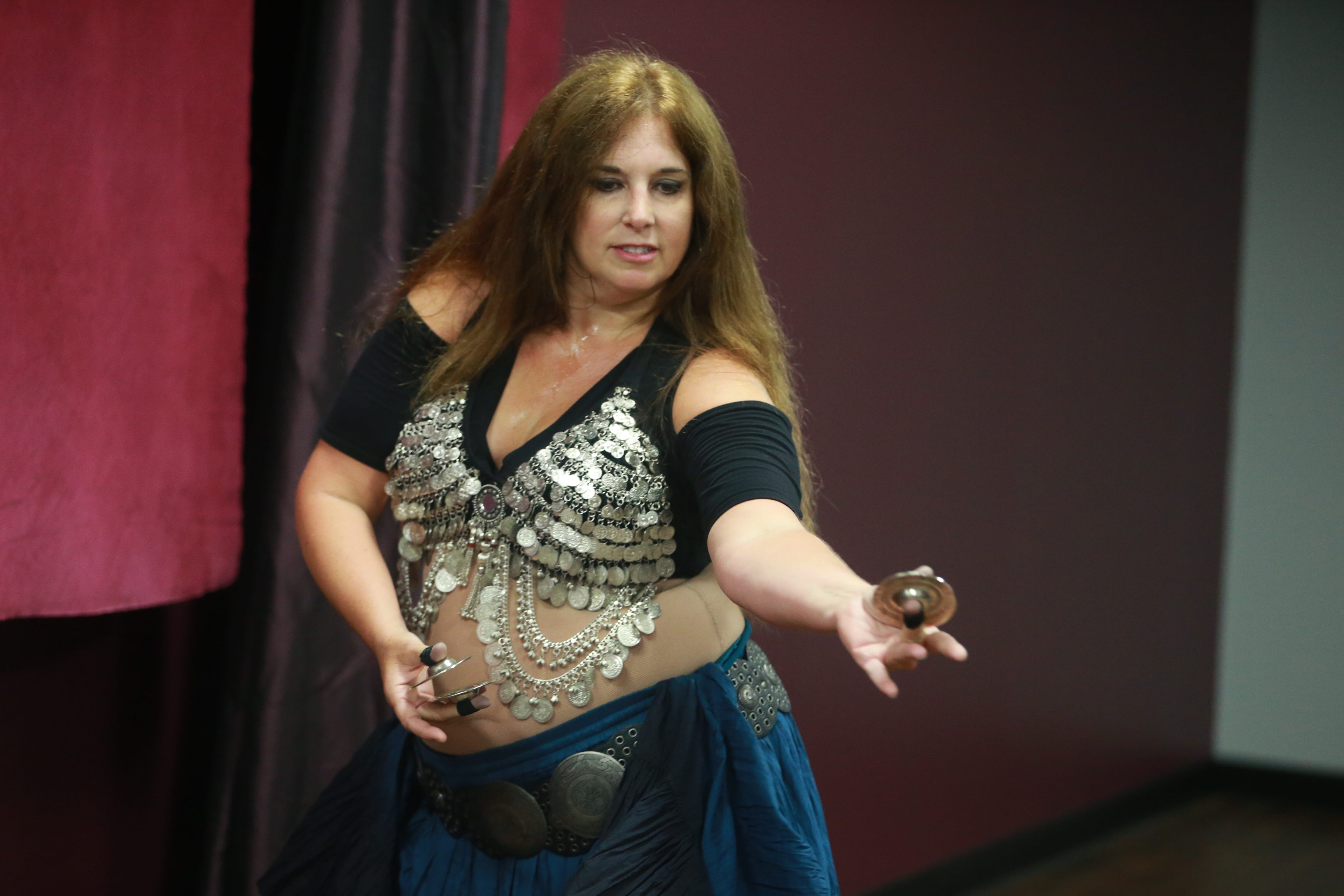 Jill Nykkei is the lead instructor at the Belly Dance Academy in the Tri-Main building on Main Street. She also is a founding member of  Fleuron Rouge dance troupe.