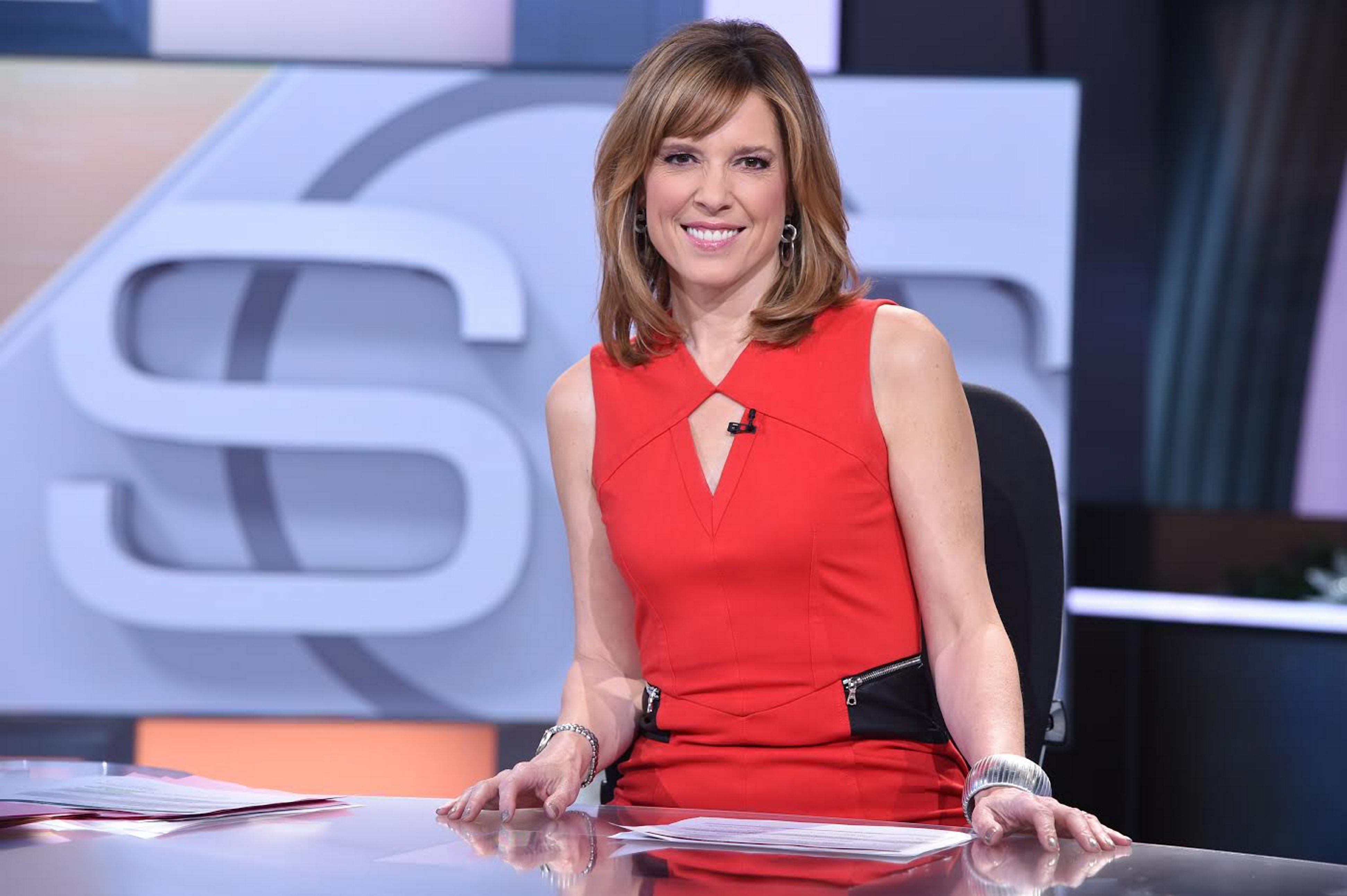 """Hannah Storm got a valuable assist from Jim Kelly when she worked for NBC in the team's Super Bowl years. She will host """"Sportscenter"""" from Ralph Wilson Stadium Sunday morning."""