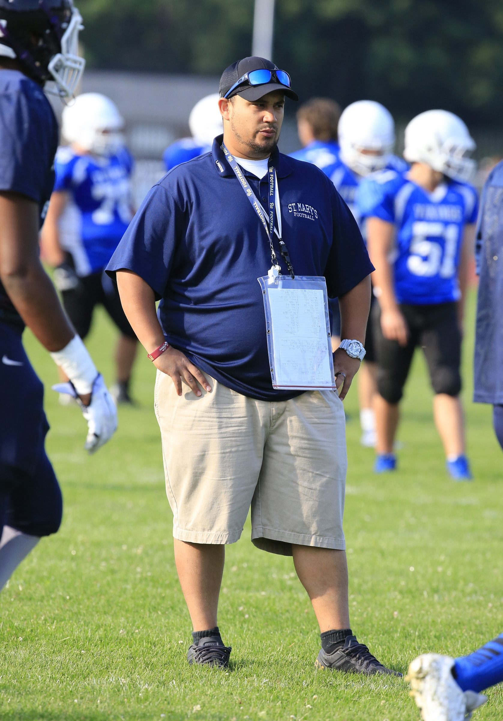 Nick Todaro will make his head coaching debut with St. Mary's of Lancaster.