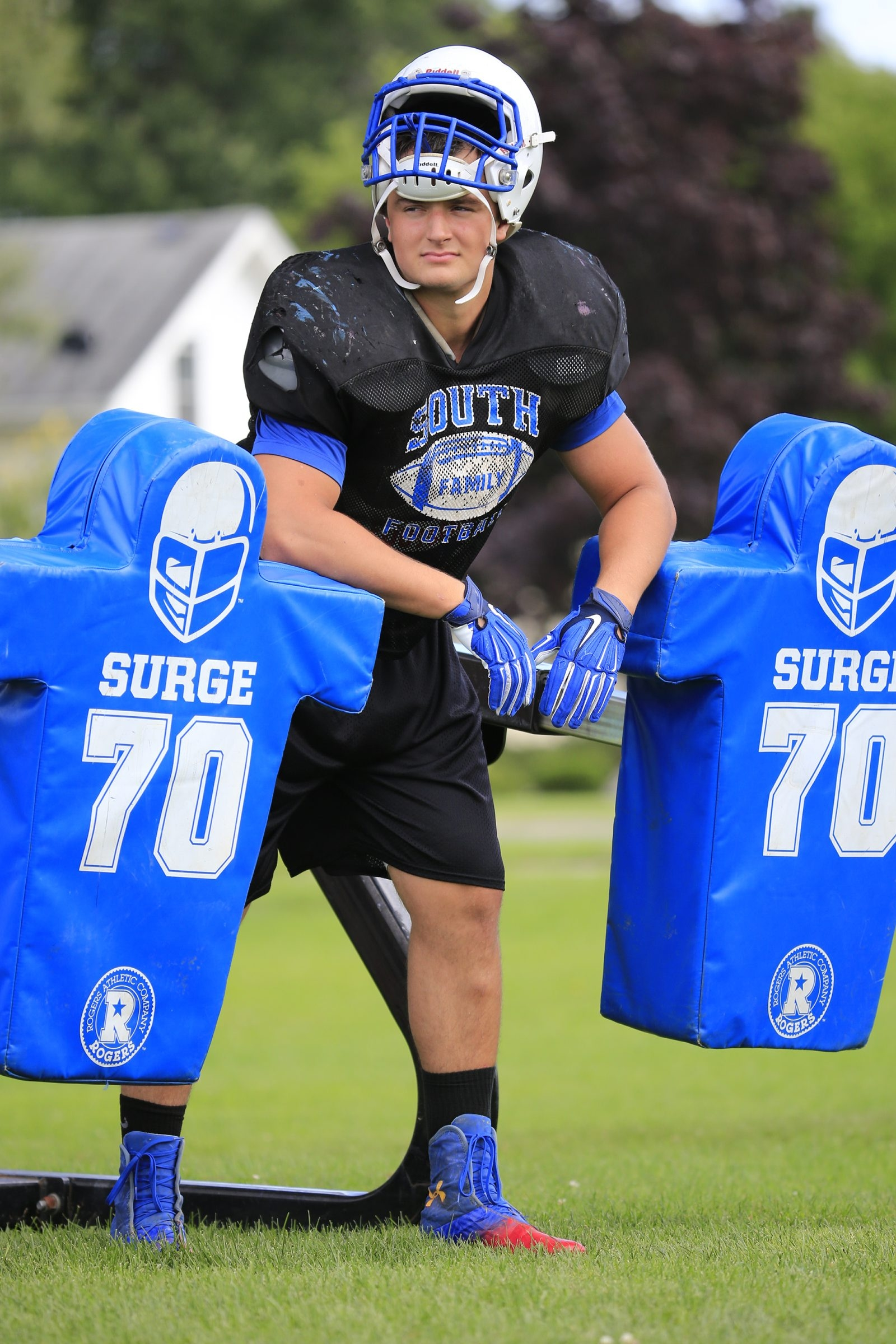 Williamsville South lineman Jake Fuzak, a 275-pounder who can move, has verbally committed to play at UB.