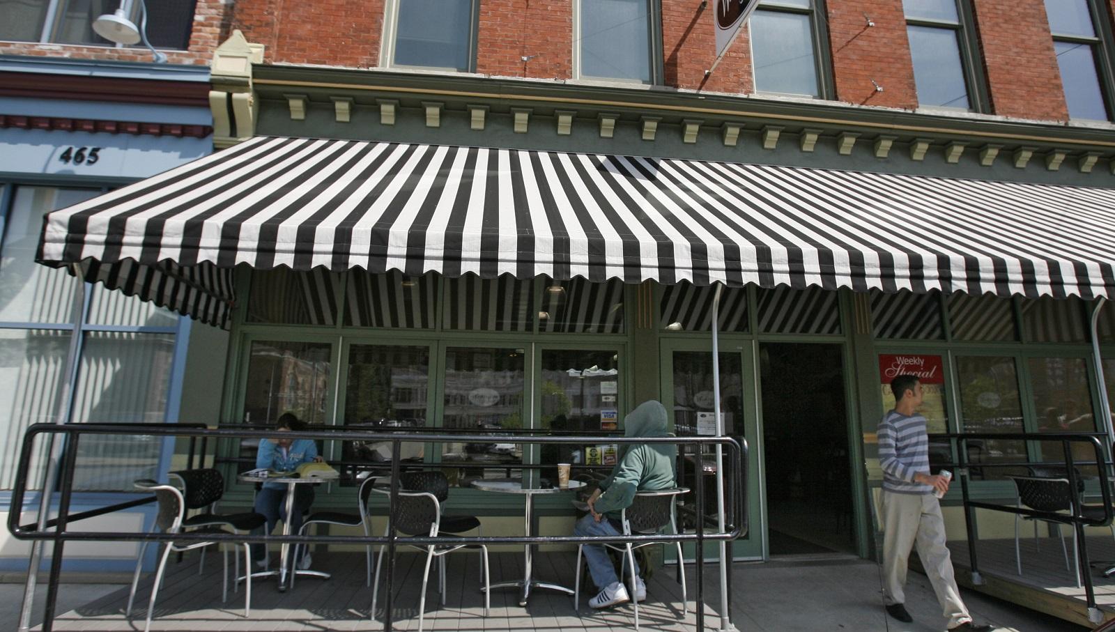 The Washington Market on Ellicott Street is for sale. (Derek Gee/Buffalo News file photo)