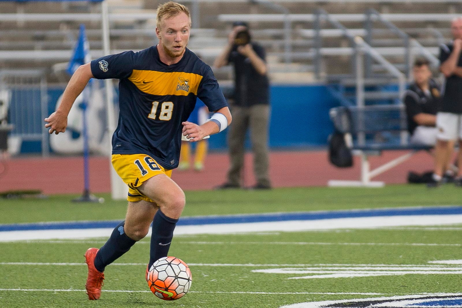 Former Canisius midfielder Chris Berardi has moved from Celtic United to Clarence Yotes. (Don Nieman/Special to The News)