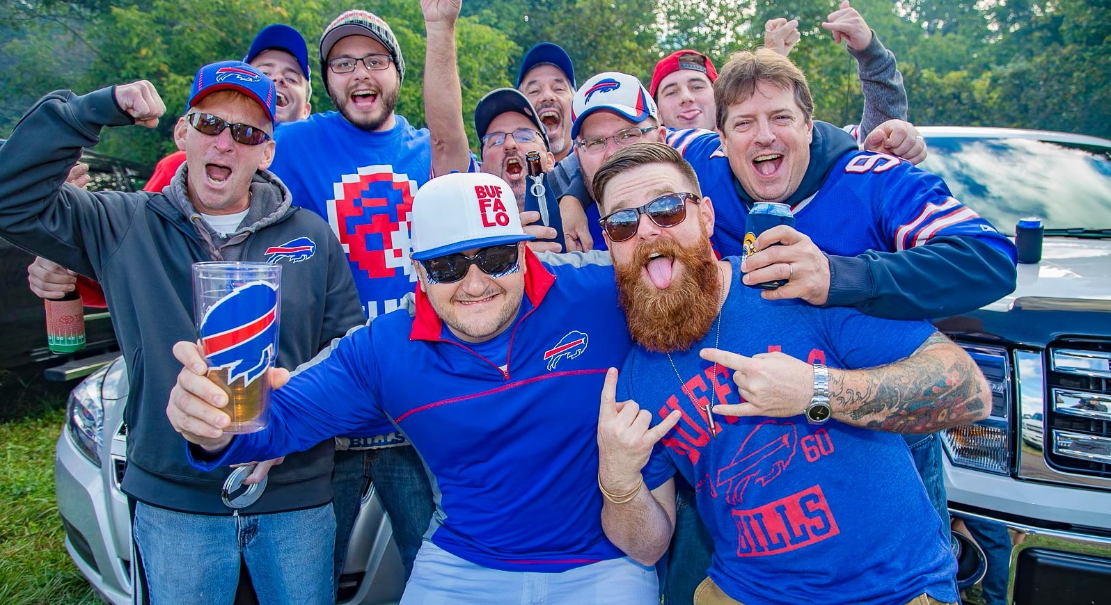 Bills fans were energized during the pregame tailgate outside Ralph Wilson Stadium. See what else was posted on Instagram by Bills fans. (Don Nieman/Special to The News)