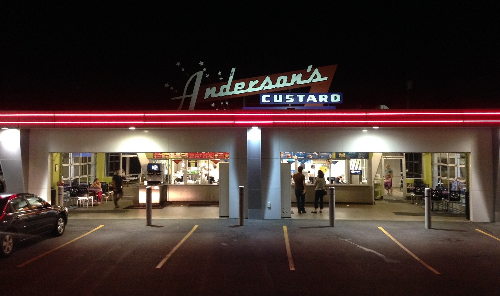 Anderson's Custard gets praise from Ben Siegel. (Ben Siegel/Special to The News)