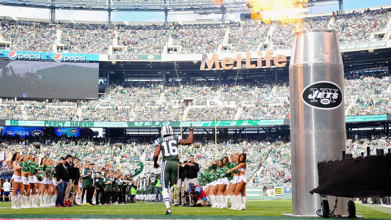 Both the New York Jets and New York Giants play in East Rutherford, NJ, which is not in New York. (Alex Goodlett/Getty Images)