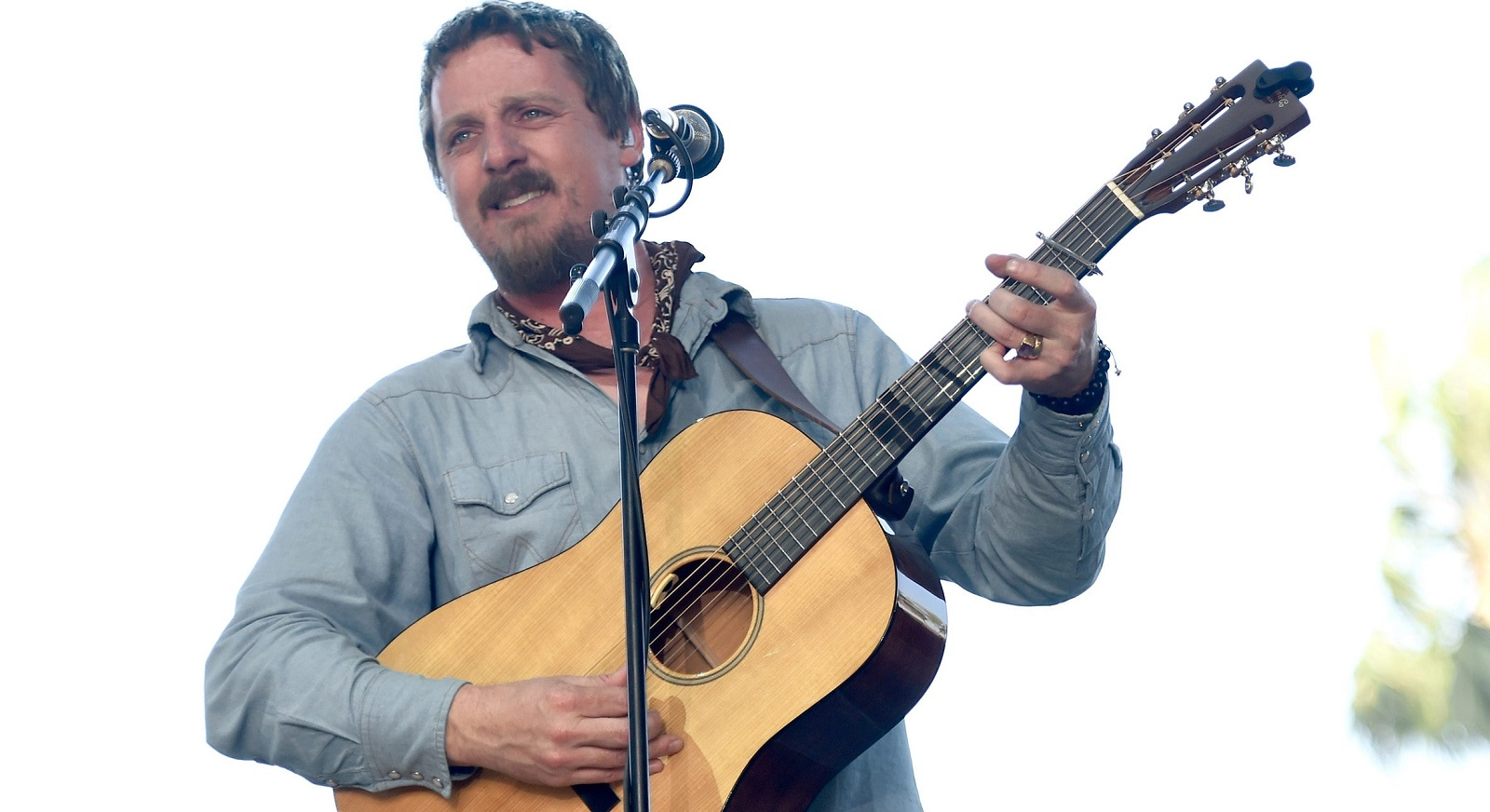 Sturgill Simpson performed Sunday night in Town Ballroom. (Photo by Frazer Harrison/Getty Images)