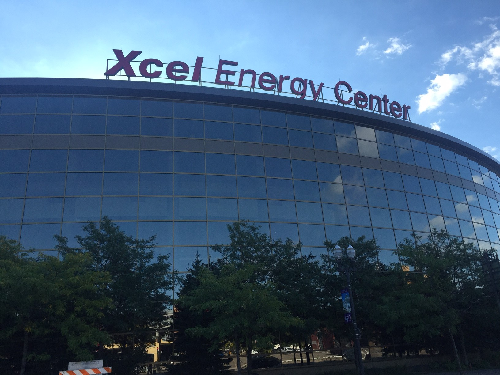 The XCel Energy Center in St. Paul, Minn., is the site of Jack Eichel's preseason debut tonight (Mike Harrington/Buffalo News).