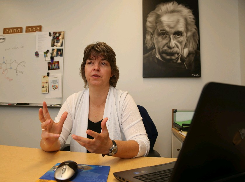 Canisius College Pre-Medical Program Director Allyson Backstrom has encouraged students to keep health care for the poor in mind as they prepare for, and carry out, their careers. (Sharon Cantillon/Buffalo News)