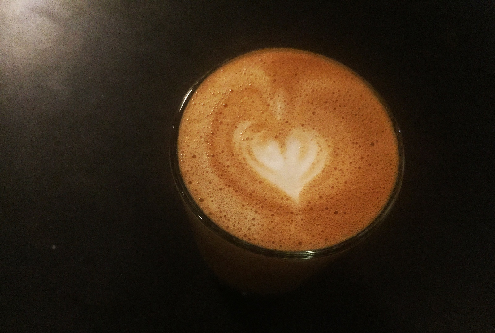 Public Espresso is one of dozens of local options from which to order a cappuccino. Pictured is a Cortado, an espresso drink similar to the cappuccino. (Lizz Schumer/Special to The News)
