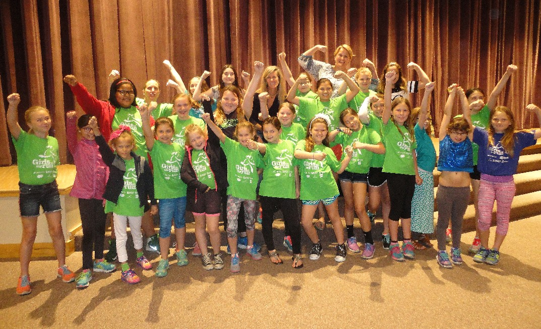 The Girls on the Run fall program opens Tuesday.