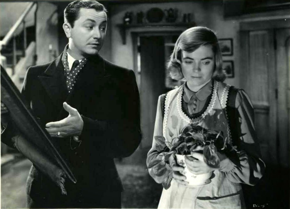 Robert Young and Dorothy McGuire star in The Enchanted Cottage.'