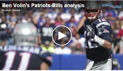 New England media analyzed the Patriots' win in Buffalo.