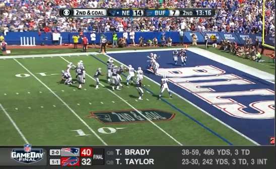 Watch Bills-Patriots highlights from the NFL Network.