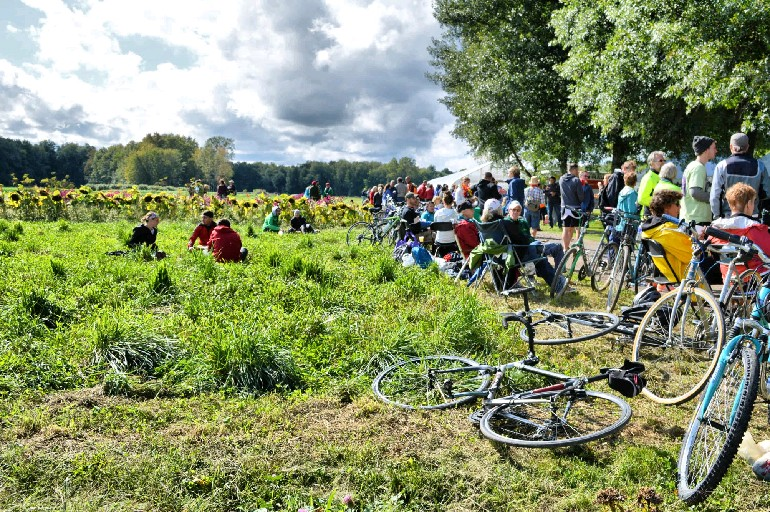 As was the case last year, this year's Tour de Farms tour will end at Oles Farm in Alden. (Cody Osborne / Special to the News)