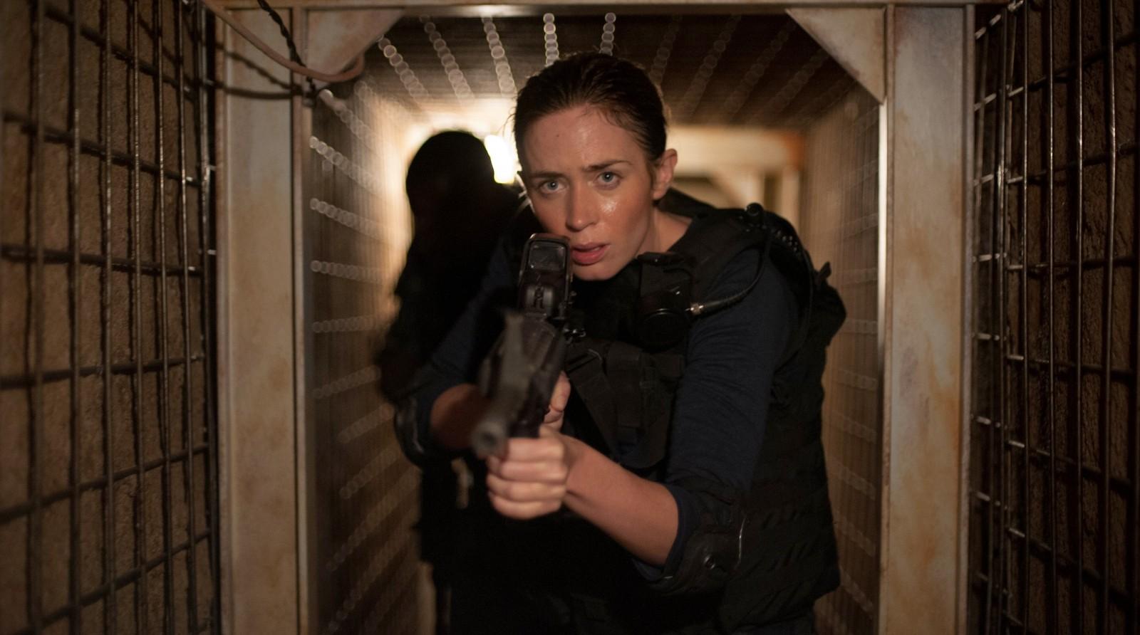 Emily Blunt in 'Sicario.' (Richard Foreman Jr. SMPSP/Lionsgate.)