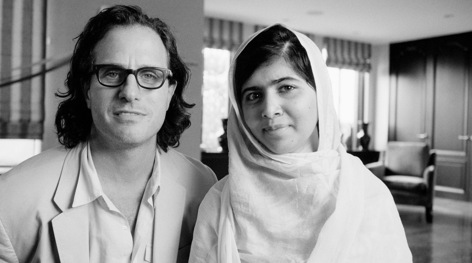 """Davis Guggenheim and Malala Yousafzai sat down and talked for several hours. """"He Named Me Malala"""" is the outcome of their conversation."""