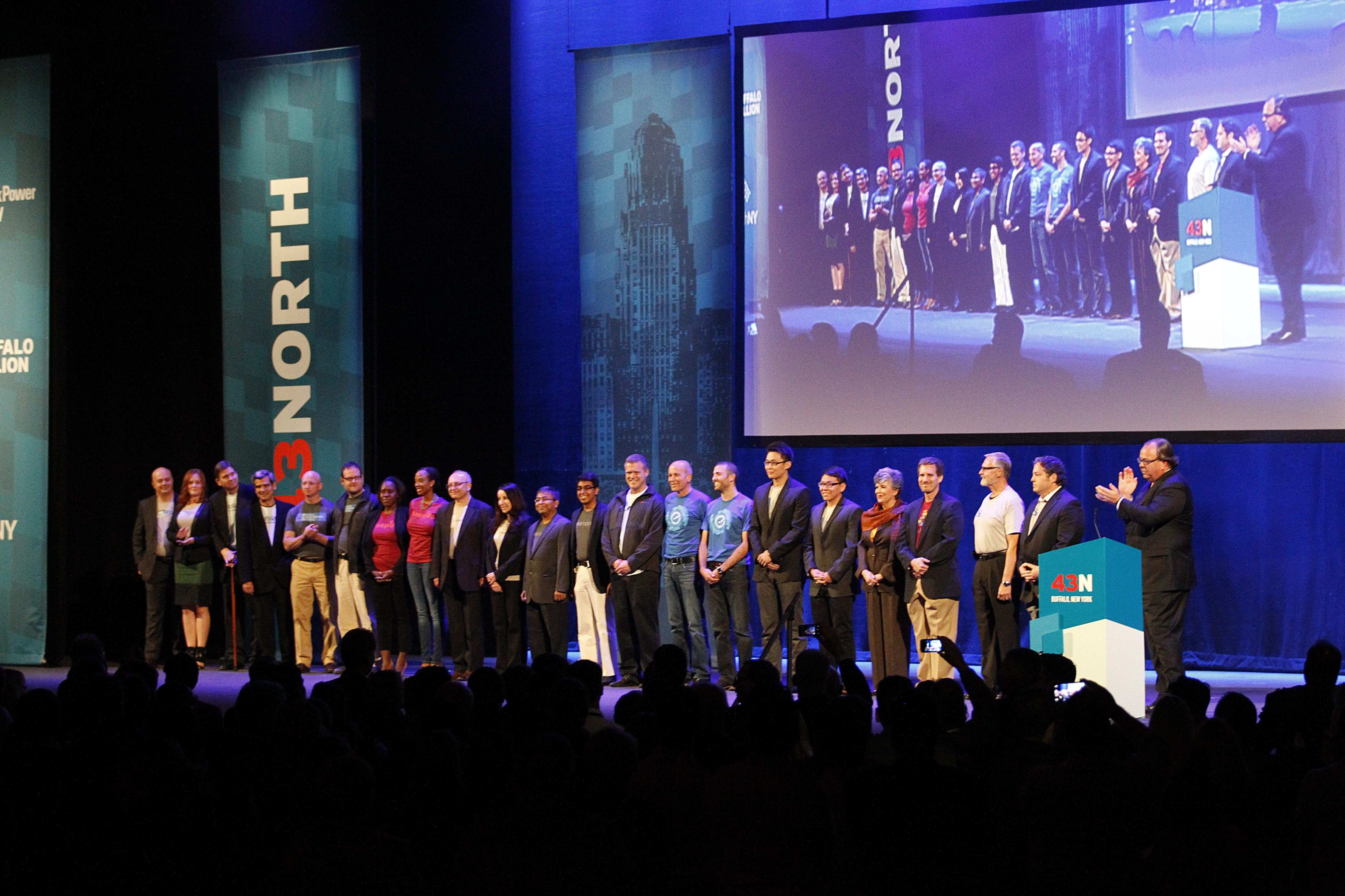 Last year, finalists in 43North business plan competition – won by ASi, a Town of Tonawanda material-shaping business – got a standing ovation at Shea's Performing Arts Center, where there will be a similar scene next Thursday for this year's finalists.
