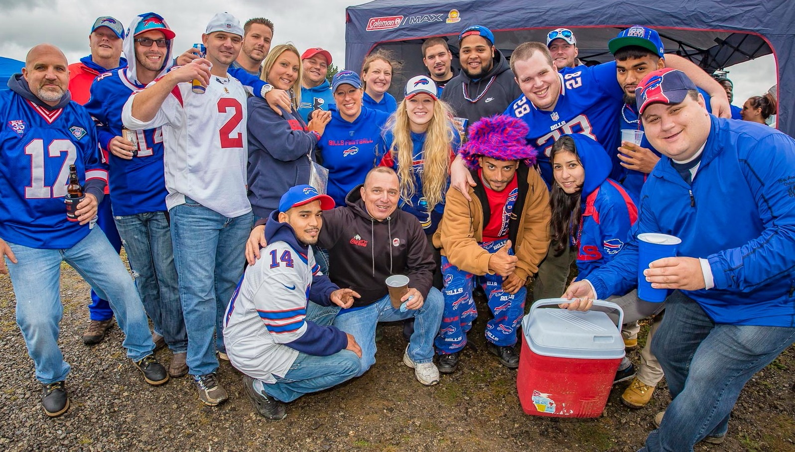 Tailgating is a proud tradition in Western New York, and Bills fans have been recognized for it by a national website. (Don Nieman/Special to The News)