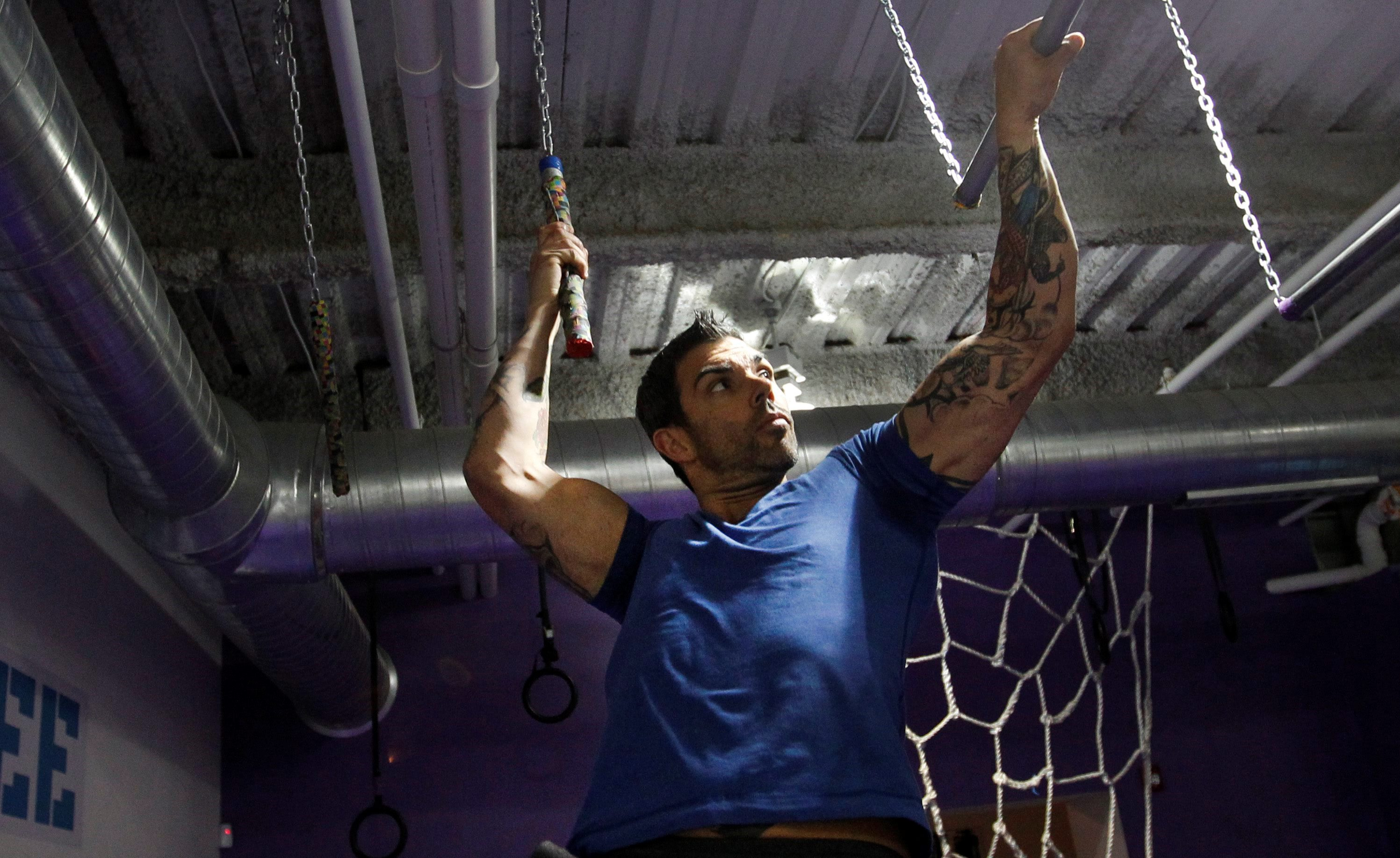 Hybrid Gym owner Patrick Hall will bring some of the biggest names in 'American Ninja Warrior' to his obstacle course gym Saturday. (Buffalo News File Photo)