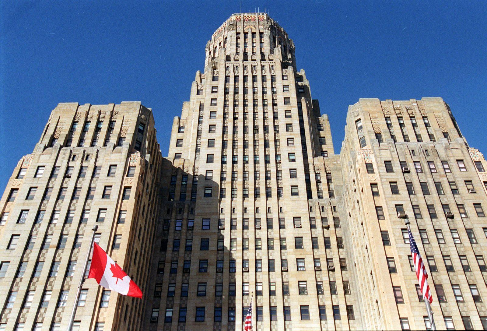 Buffalo City Hall. (Robert Kirkham/Buffalo News)