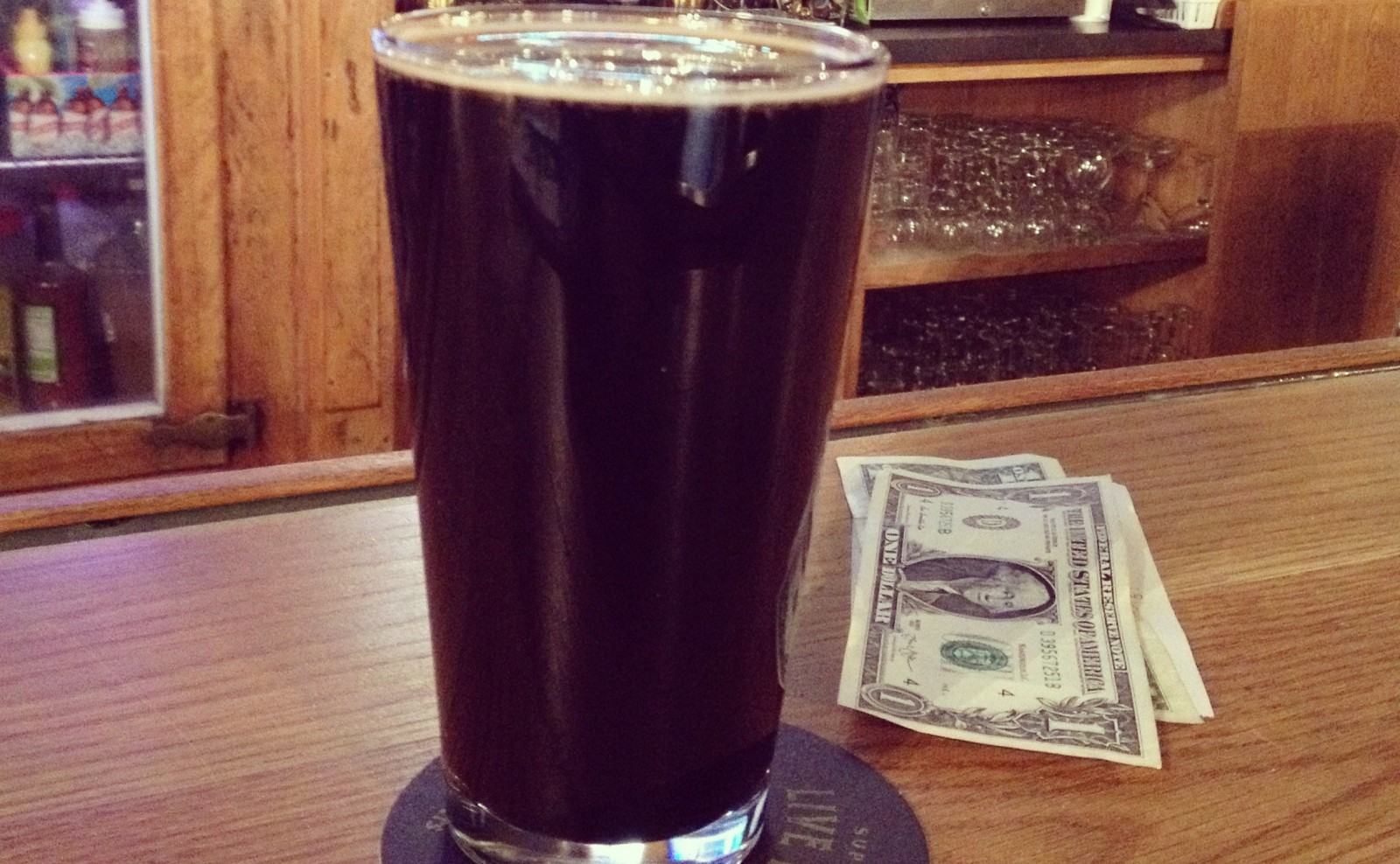 Founders Breakfast Stout at Armor Inn Tap Room. (Michael Farrell/Special to The News)