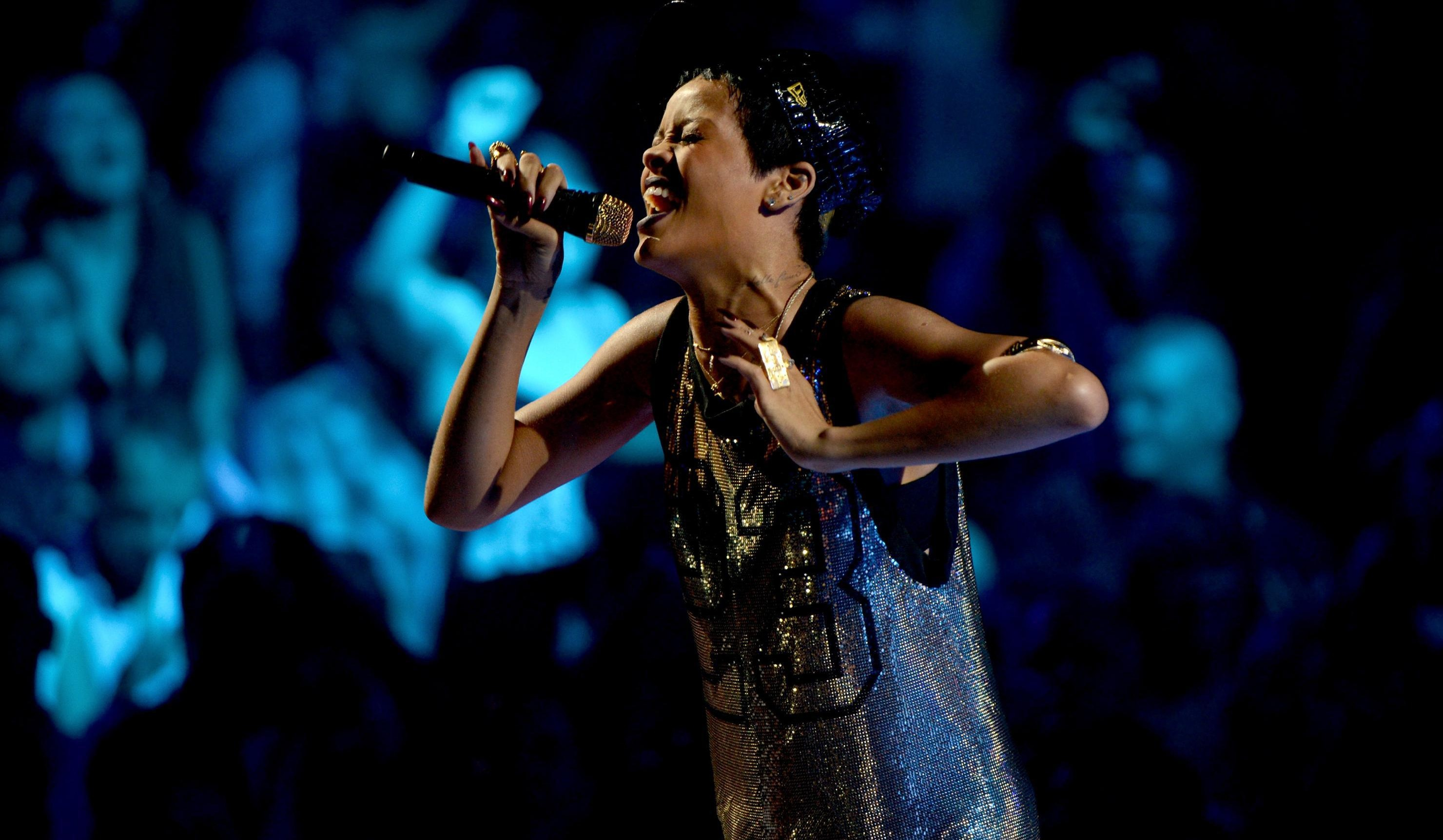 Rihanna is coming to town. (Getty Images)