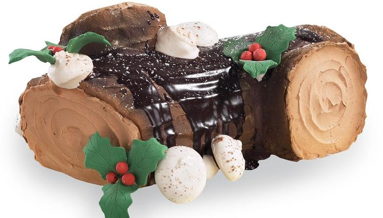 Dessert Deli's Yule Log is a holiday tradition.