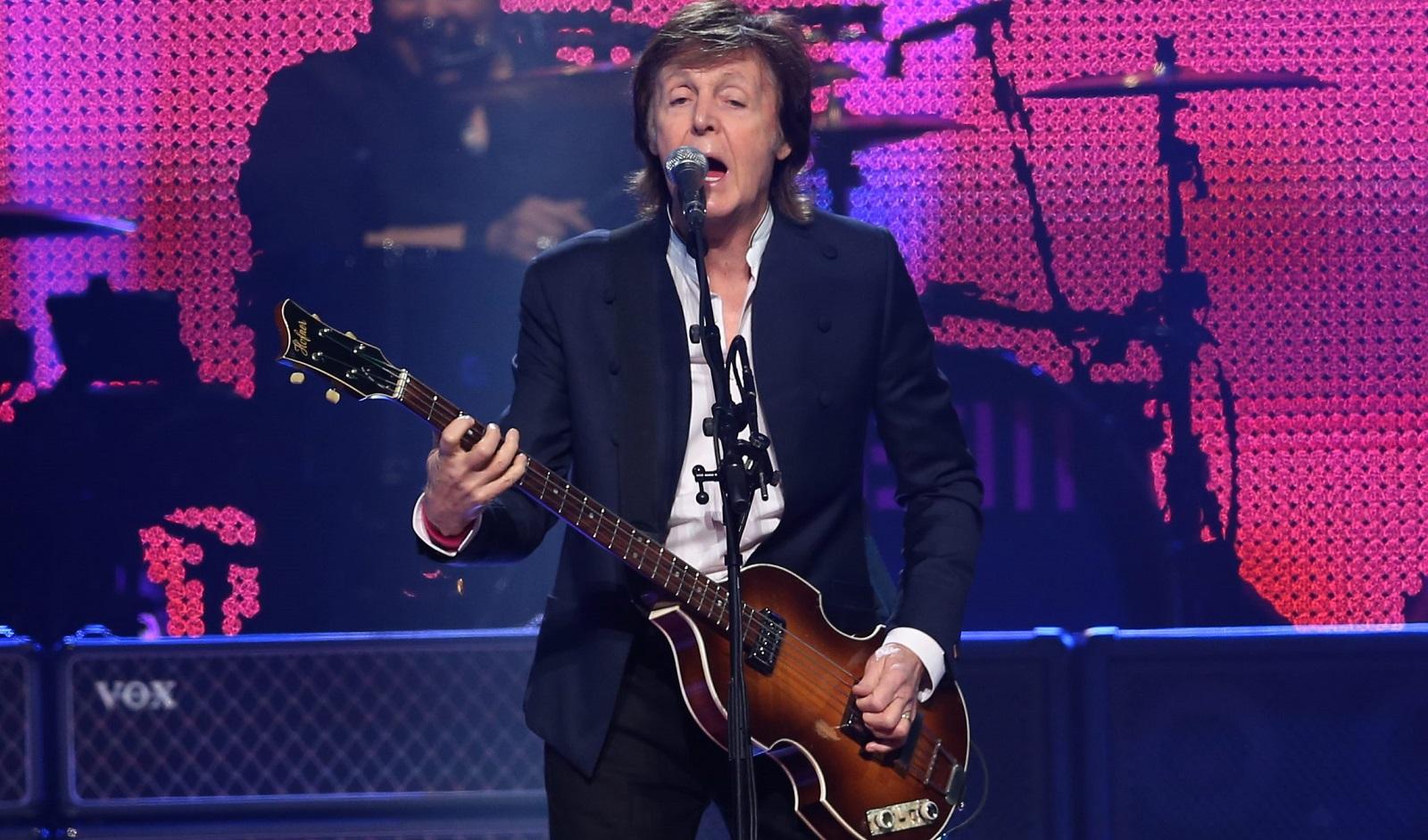 Paul McCartney during his October show at First Niagara Center. (Sharon Cantillon/Buffalo News)