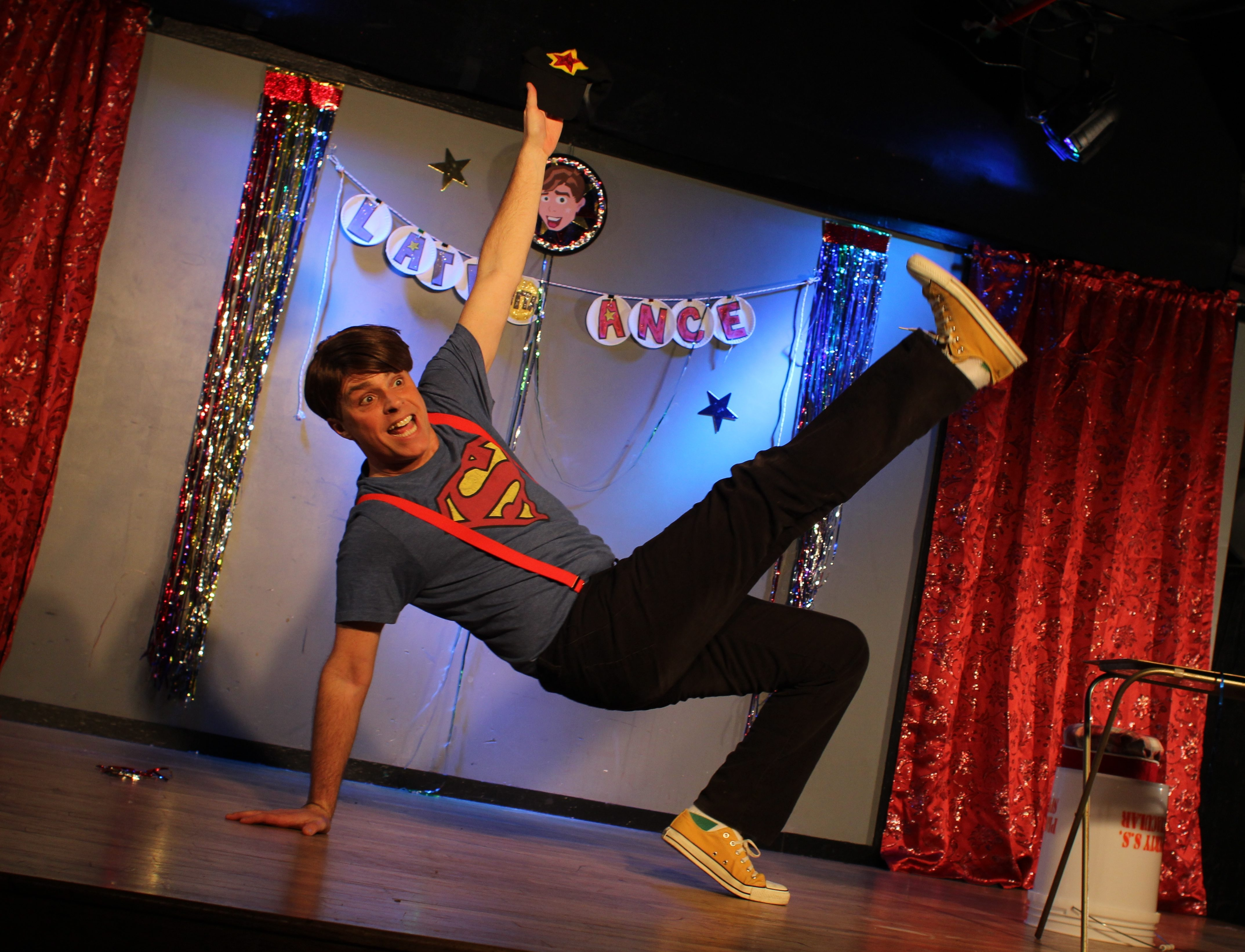"""Peter Michael Marino performs his one-man show """"Late With Lance"""" Dec. 4 and Dec. 6 in the Donald Savage Theatre at SUNY Buffalo State."""
