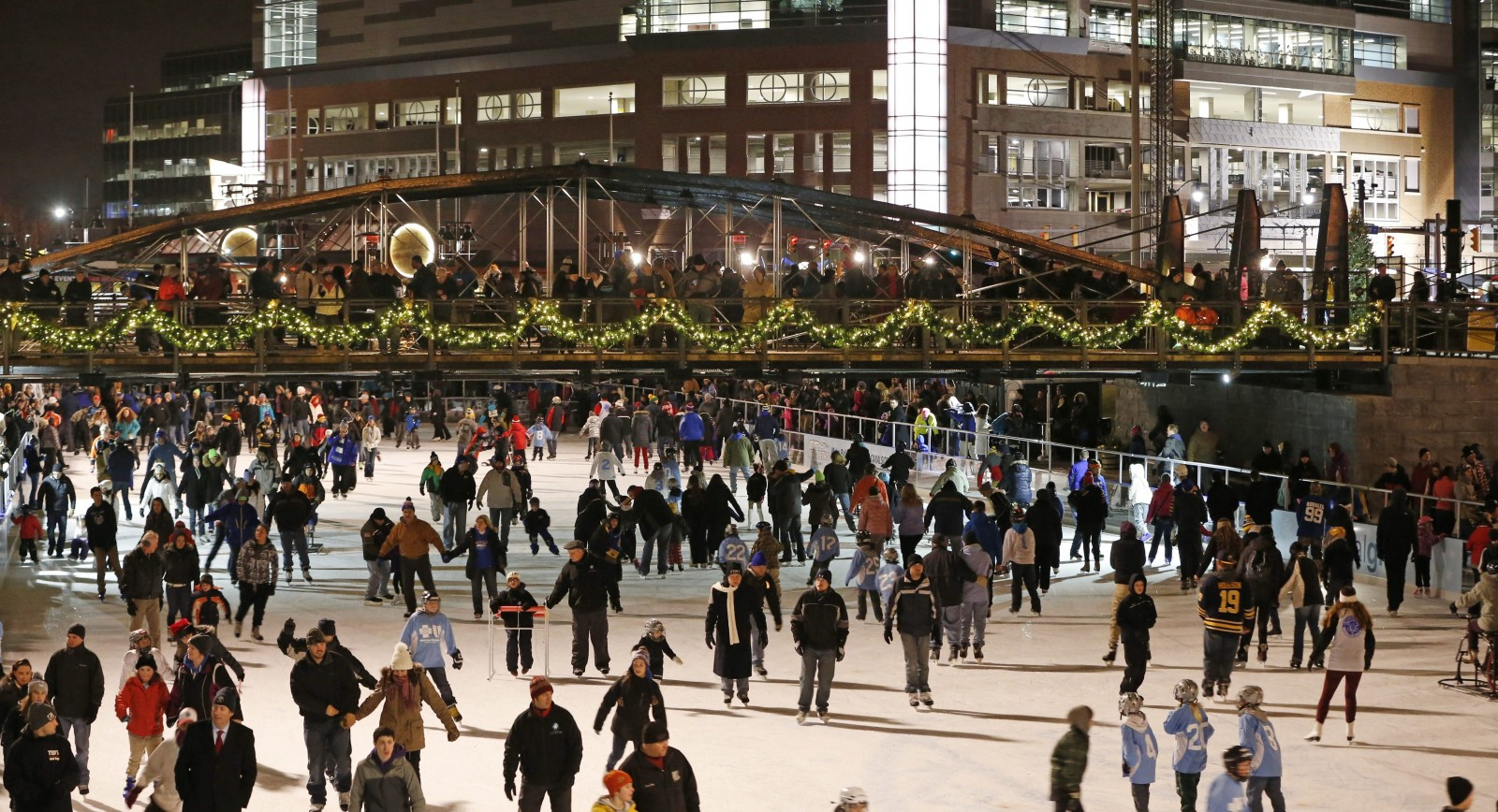 The Ice at Canalside is one of many attractions in Western New York. (Derek Gee/News file photo)