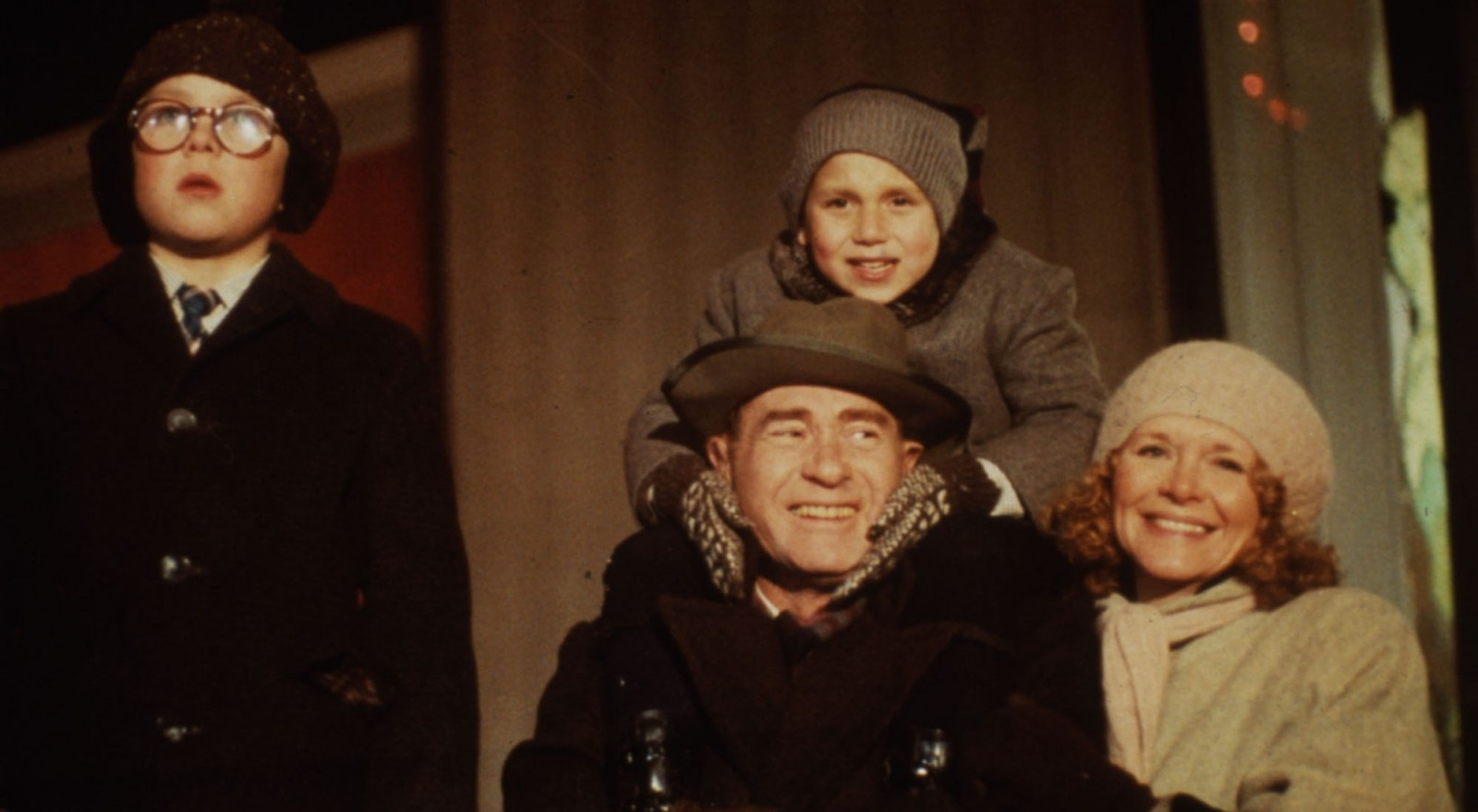 A scene from 'A Christmas Story,' a flop when it was released in 1983.