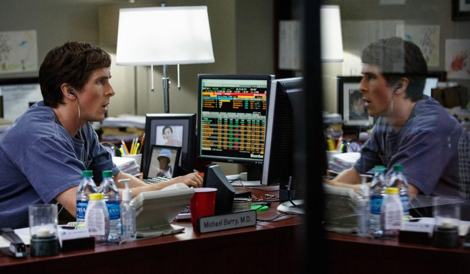 Christian Bale in 'The Big Short.' (Paramount Pictures)