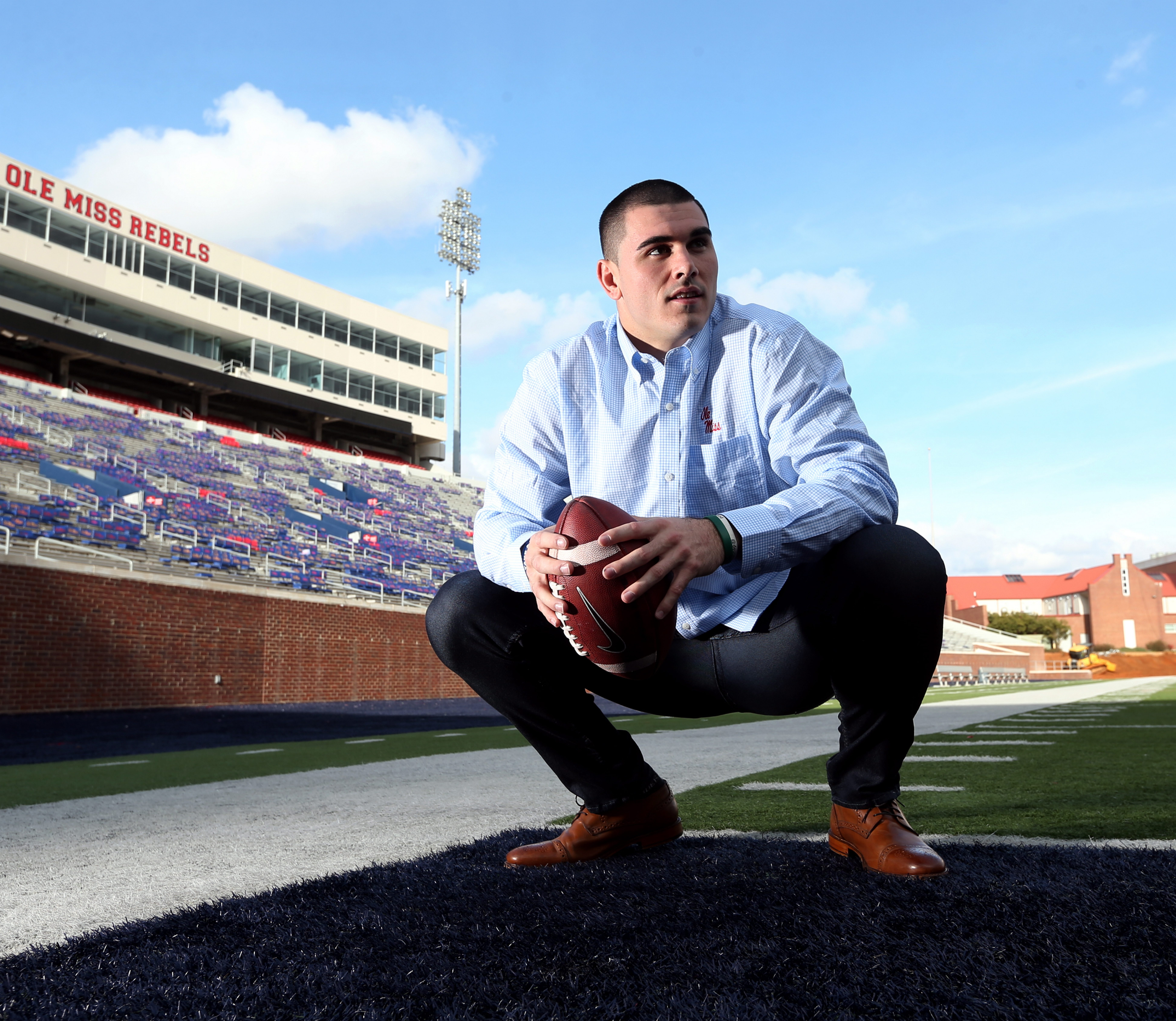 Chad Kelly has vaulted himself to the top of the college football world as the quarterback at the University of Mississippi, an SEC powerhouse whose quarterback alumni include Archie and Eli Manning. For the first time in 46 years, the Rebels will play in the Sugar Bowl. They will meet the Oklahoma State Cowboys on Jan. 1.