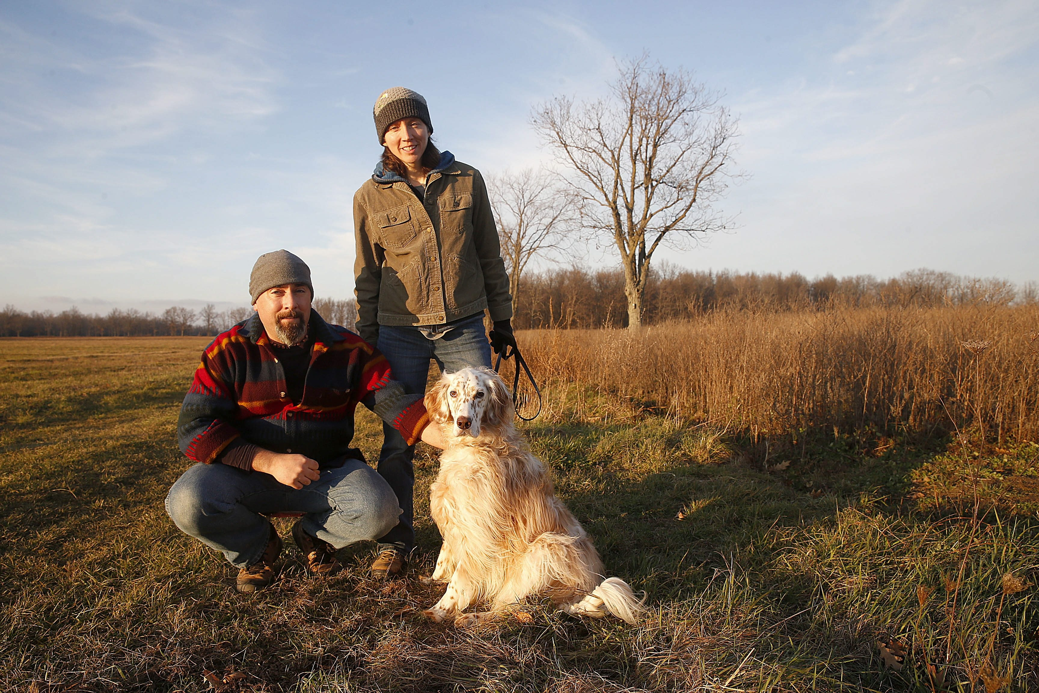 When Nicole Gerber and David Reilly found traps on public land near their property, they moved to stop the activity on Grand Island. Their efforts resulted in a trapping ban on town land on George Alt Boulevard.
